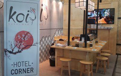Koi Sushi Bar: Στα ξενοδοχεία μπαίνει η Νο1 αλυσίδα ethnic street food
