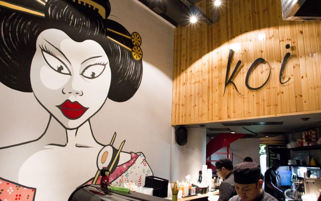 Το Koi sushi bar πρωταγωνιστεί στις προτιμήσεις των franchisees