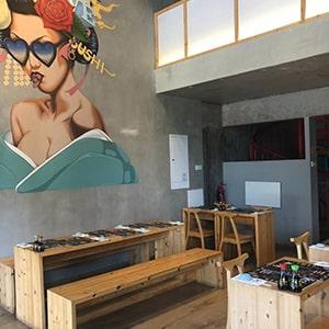 KOI Sushi bar Franchise - κατάστημα